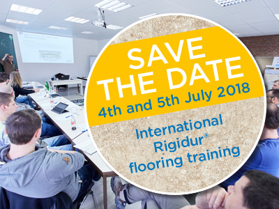 International Rigidur® flooring training